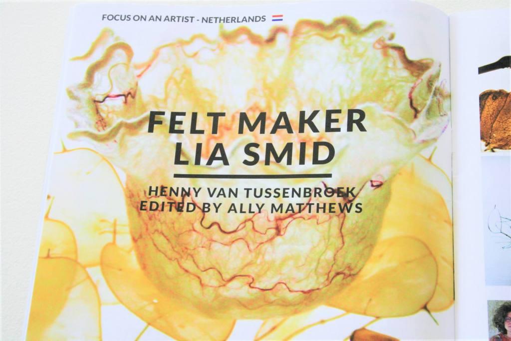 Interview in Felt Matters, internationaal viltblad van IFA